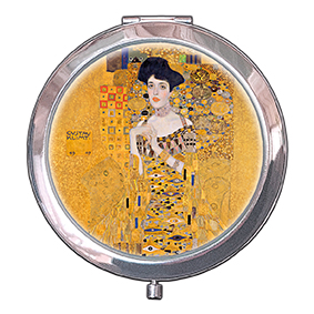 Pocket Mirror, Klimt, Adele, 70x11mm