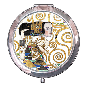 Pocket Mirror, Klimt, The Expectation, 70x11mm