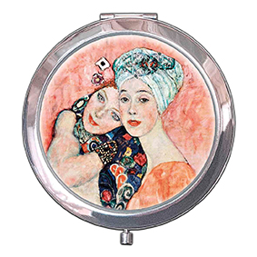 Pocket Mirror, Klimt, The Girlfriends, 70x11mm