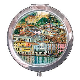 Pocket Mirror, Klimt, Malcesine, 70x11mm