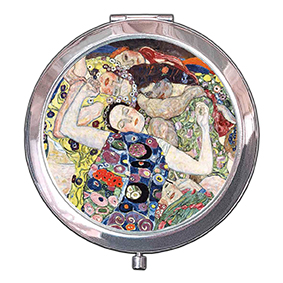 Pocket Mirror, Klimt, The Virgin, 70x11mm