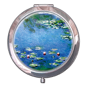 Pocket Mirror, Monet, Waterlilies, 70x11mm