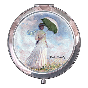 Pocket-Mirror, Monet, Women with Parasol, 70x11mm