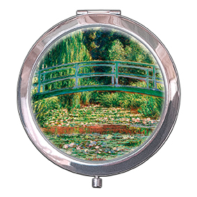 Pocket Mirror, Monet, Japanese Bridge, 70x11mm