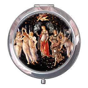 Pocket-Mirror, Botticelli, La Primavera, 70x11mm