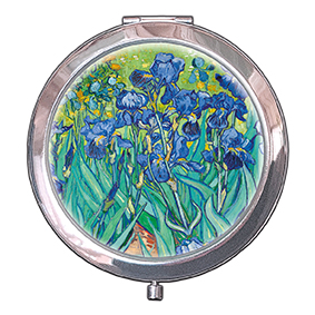 Pocket Mirror, Van Gogh, Irises, 70x11mm