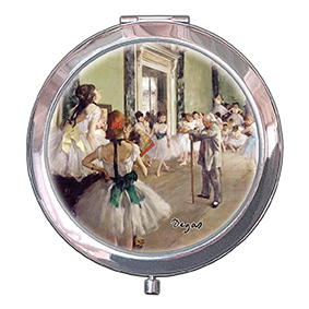 Pocket-Mirror, Degas, The Ballet Class, 70x11mm