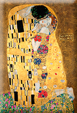 Magnet, Klimt, The Kiss, 80x55mm