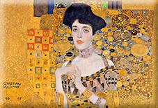 Magnet, Klimt, Adele Detail, 80x55mm