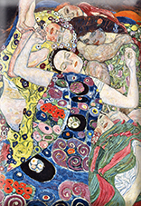Magnet, Klimt, The Virgin, 80x55mm