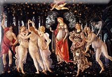 Magnet, Botticelli, La Primavera, 80x55mm