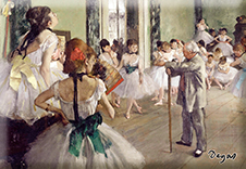 Magnet, Degas, The Ballet Class, 80x55mm