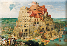 Magnet, Bruegel, Tower of Babel, 80x55mm
