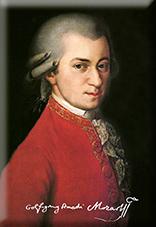 Magnet, Krafft, Mozart, 80x55mm