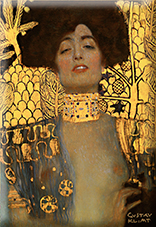 Magnet, Klimt, Judith I, 80x55mm