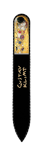Nail File with Swarovski Element, Klimt, The Kiss, 13,5x1.2cm