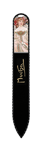 Nail File with Swarovski Element, Mucha, Reverie, 13,5x1.2cm