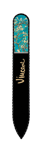 Nail File with Swarovski Element, Van Gogh, Almond Blossom, 13,5x1.2cm