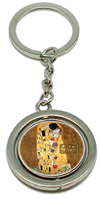 Keychain, Klimt, The Kiss & Detail