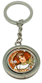 Keychain, Mucha, Autumn & Winter