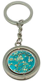 Keychain, Van Gogh, Almond Blossom & Detail