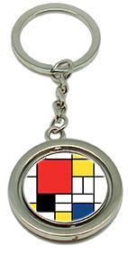 Keychain, Mondrian, Composition