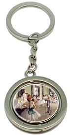 Keychain, Degas, Ballet Class & Dancer