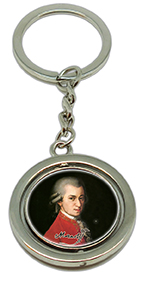 Keychain, Krafft, Mozart & Notes